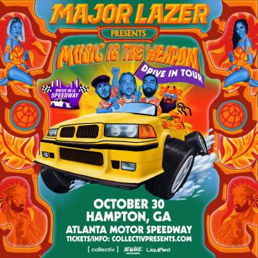 Major Lazer: Music Is The Weapon Drive-In Tour: Main Image
