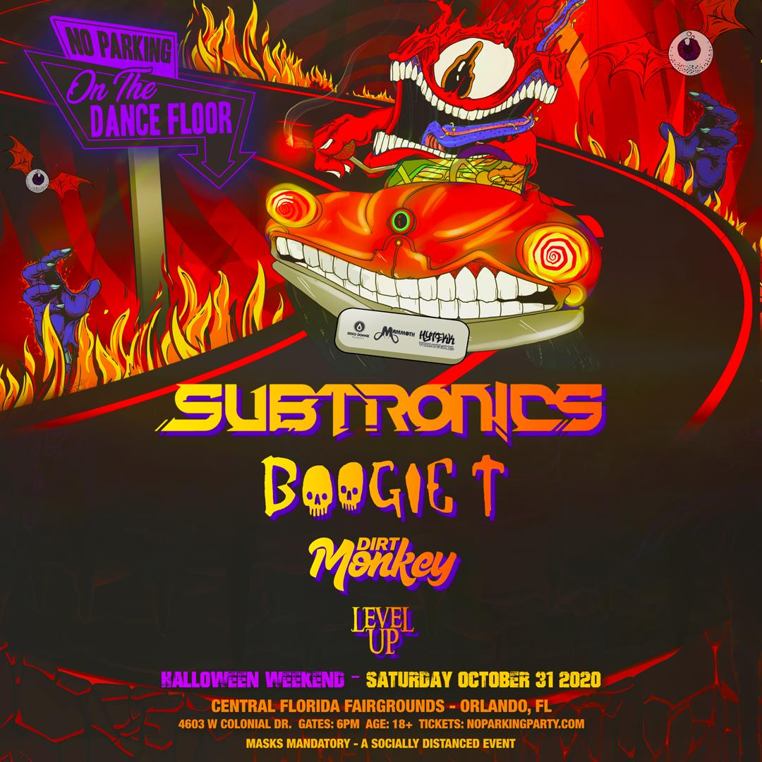 18+ Halloween Parties 2020 Central Florida Buy Tickets to Subtronics   ORLANDO in Orlando on Oct 31, 2020