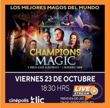 CHAMPIONS OF MAGIC: Main Image