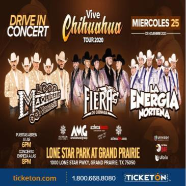 VIVE CHIHUAHUA DRIVE IN CONCERT