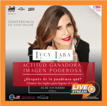 LUCY LARA ACTITUD GANADORA, IMAGEN PODEROSA: Main Image
