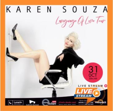 CANCELED KAREN SOUZA LANGUAGE OF LOVE TOUR: Main Image