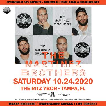 THE MARTINEZ BROTHERS - TAMPA: Main Image