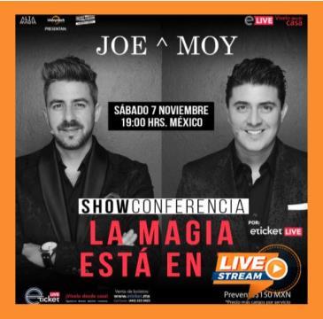 JOE & MOY SHOW CONFERENCIA, LA MAGIA ESTA EN TI: Main Image