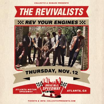 CANCELLED: The Revivalists: Main Image