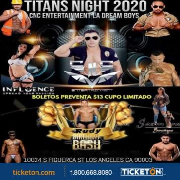 TITANS NIGHT 2020: Main Image