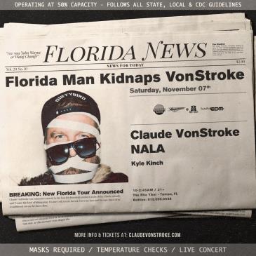 Claude Vonstroke - TAMPA: Main Image