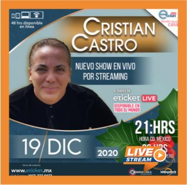 CRISTIAN CASTRO: Main Image