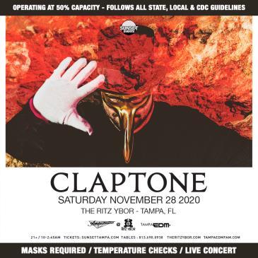 Claptone - TAMPA: Main Image