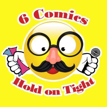 BonkerZ Presents a  6 Comic Laugh-A-Thon: Main Image