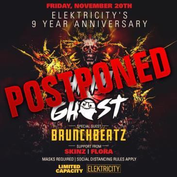 HI I'M GHOST + BRUNCHBEATZ - Postponed to TBA: Main Image