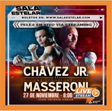 JULIO CESAR CHAVEZ JR VS MASSERONI: Main Image