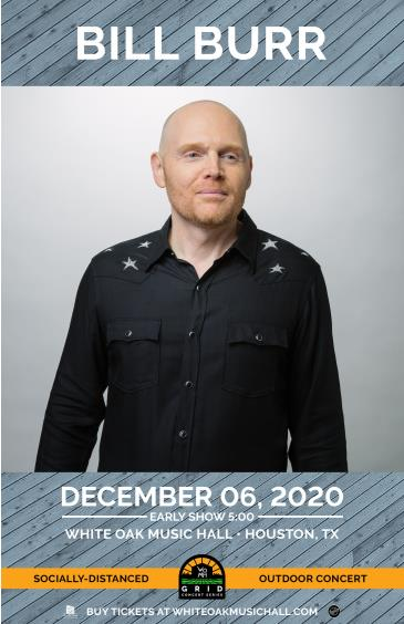 BILL BURR Early Show - GRID Event: Main Image