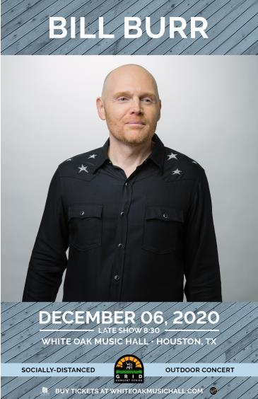BILL BURR Late Show - GRID Event: Main Image