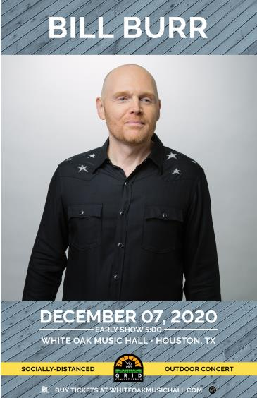 BILL BURR Early Show - GRID Event Night 2: Main Image