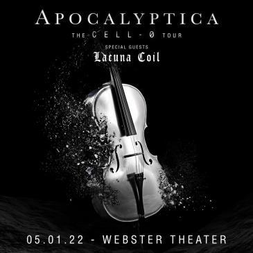 APOCALYPTICA: CELL-0 TOUR: Main Image