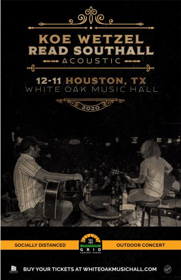 Koe Wetzel with Read Southall - GRID Event: Main Image