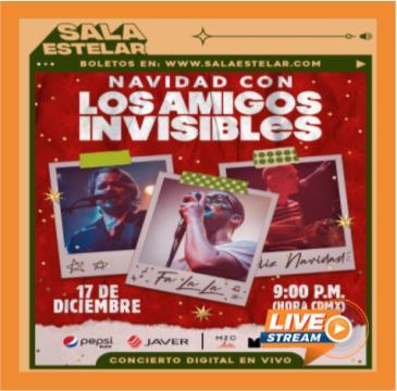NAVIDAD CON LOS AMIGOS INVISIBLES: Main Image