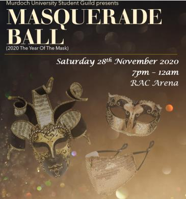 Murdoch Guild of Students Presents the 2020 Masquerade Ball: Main Image
