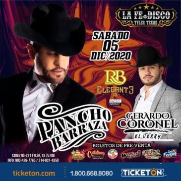 PANCHO BARRAZA Y GERARDO CORONEL