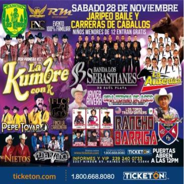 CANCELED KUMBRE CON K , BANDA LOS SEBASTIANES, LA AUTENTICA: Main Image
