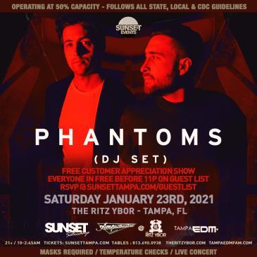 Phantoms (DJ Set) - TAMPA: Main Image
