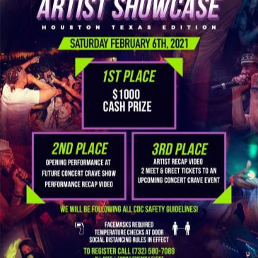 Concert Crave Artist Showcase - HOUSTON, TX 2.6.21-img