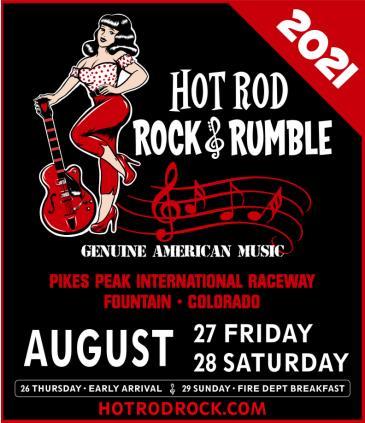 HOT ROD ROCK & RUMBLE 2021 – COLORADO: Main Image