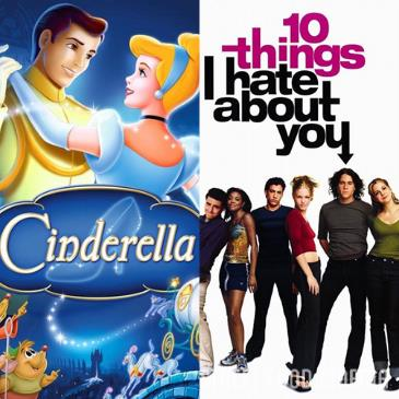 Double Feature: Cinderella & 10 Things I Hate About You: Main Image