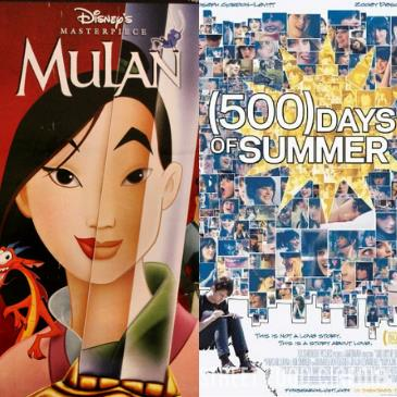 Double Feature: Mulan & 500 Days of Summer: Main Image