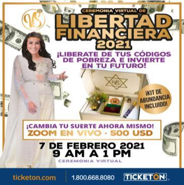 CEREMONIA VIRTUAL DE LA LIBERTAD FINANCIERA 2021: Main Image