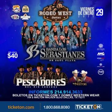 BANDA LOS SEBASTIANES ,DALLAS,TX: Main Image