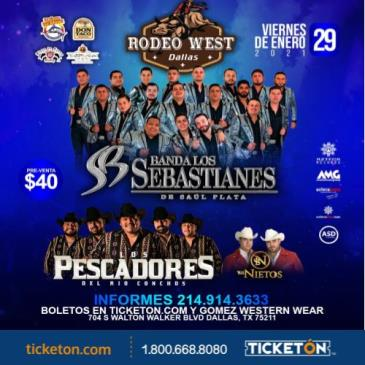 BANDA LOS SEBASTIANES ,DALLAS,TX