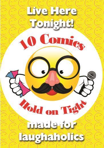 BonkerZ Presents 10 Comic Comedy Slam: