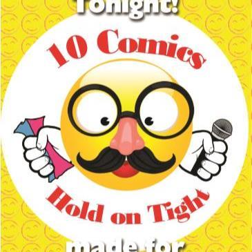 BonkerZ Presents 10 Comic Laugh-A-Thon-img