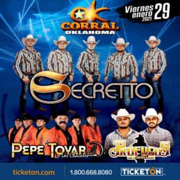GRUPO SECRETTO EN OKC