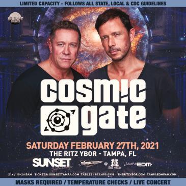 Cosmic Gate - TAMPA-img
