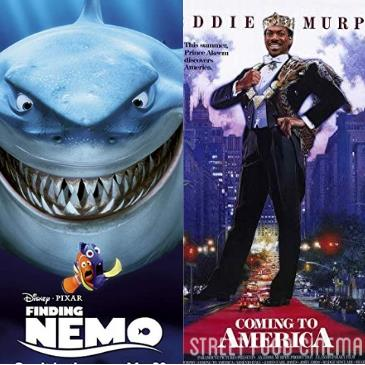 Double Feature: Finding Nemo & Coming to America: Main Image