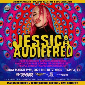 JESSICA AUDIFFRED: Main Image