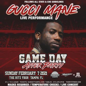 GUCCI MANE - Game-day After Party: Main Image
