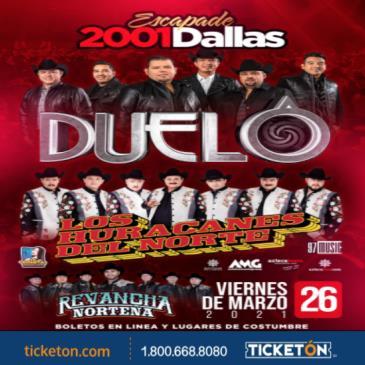 LOS HURACANES , DUELO , DALLAS TX