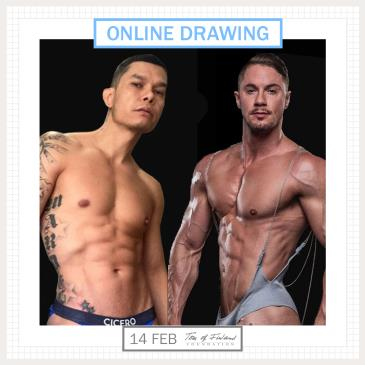 Tom of Finland Foundation Drawing Session ONLINE-img