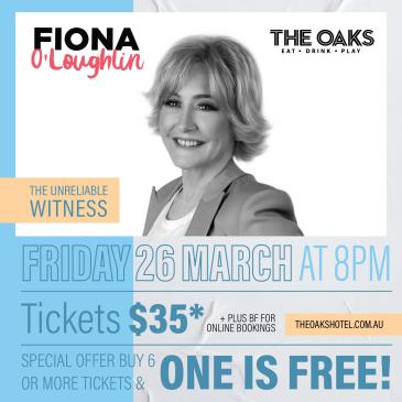Truths from an Unreliable Witness by Fiona O'Loughlin-img