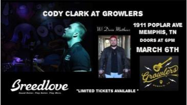 Cody Clark Single Release Show: Main Image