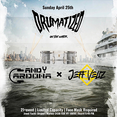 EDM Techno House Sunset Cruise 4/25 Yacht Party at Skyport Marina Jewel Yacht Tickets Party | GametightNY.com