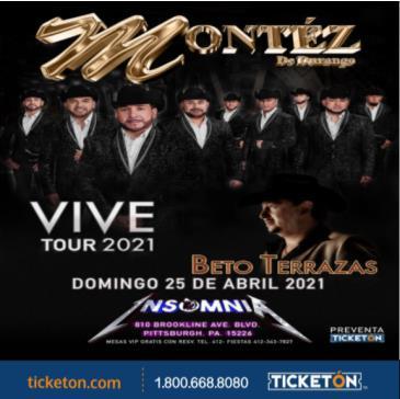 VIVE TOUR 2021 MONTEZ DE DURANGO: Main Image