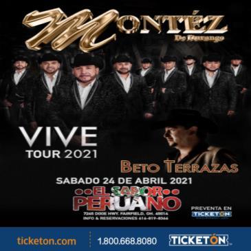 VIVE TOUR 2021 MONTEZ DE DURANGO