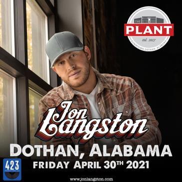 Jon Langston - LIVE at The Plant: Main Image