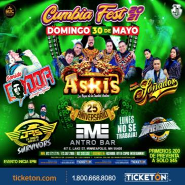 CUMBIA FEST en MINNEAPOLIS