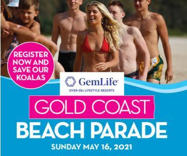 Gold Coast Beach Parade: Main Image